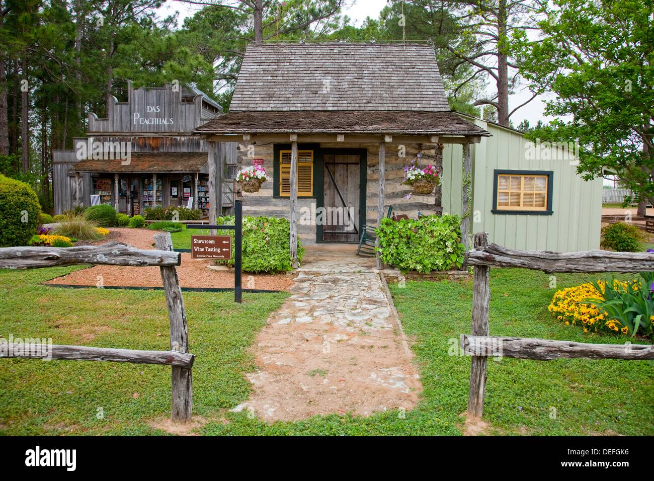 in at property lodging fredericksburg farm cottage cottages tx herb the