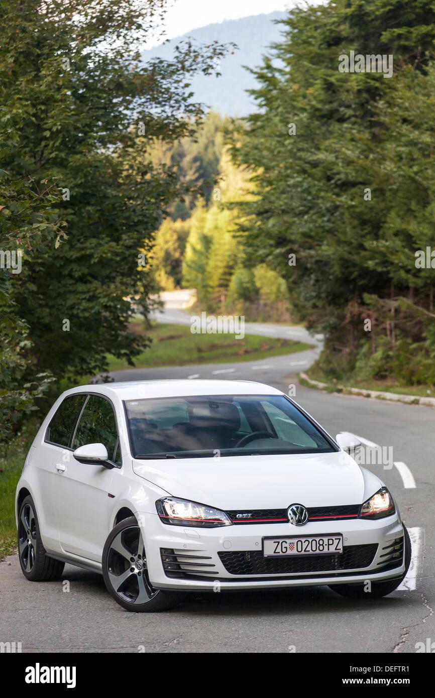 Volkswagen Golf VII GTI Performance - Stock Image