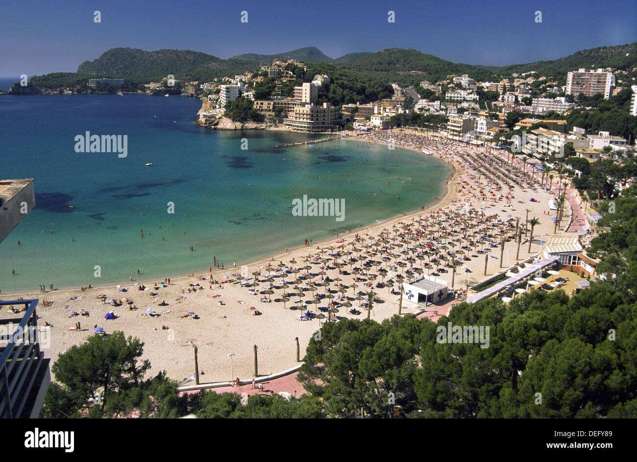 Paguera Beach High Resolution Stock Photography And Images Alamy