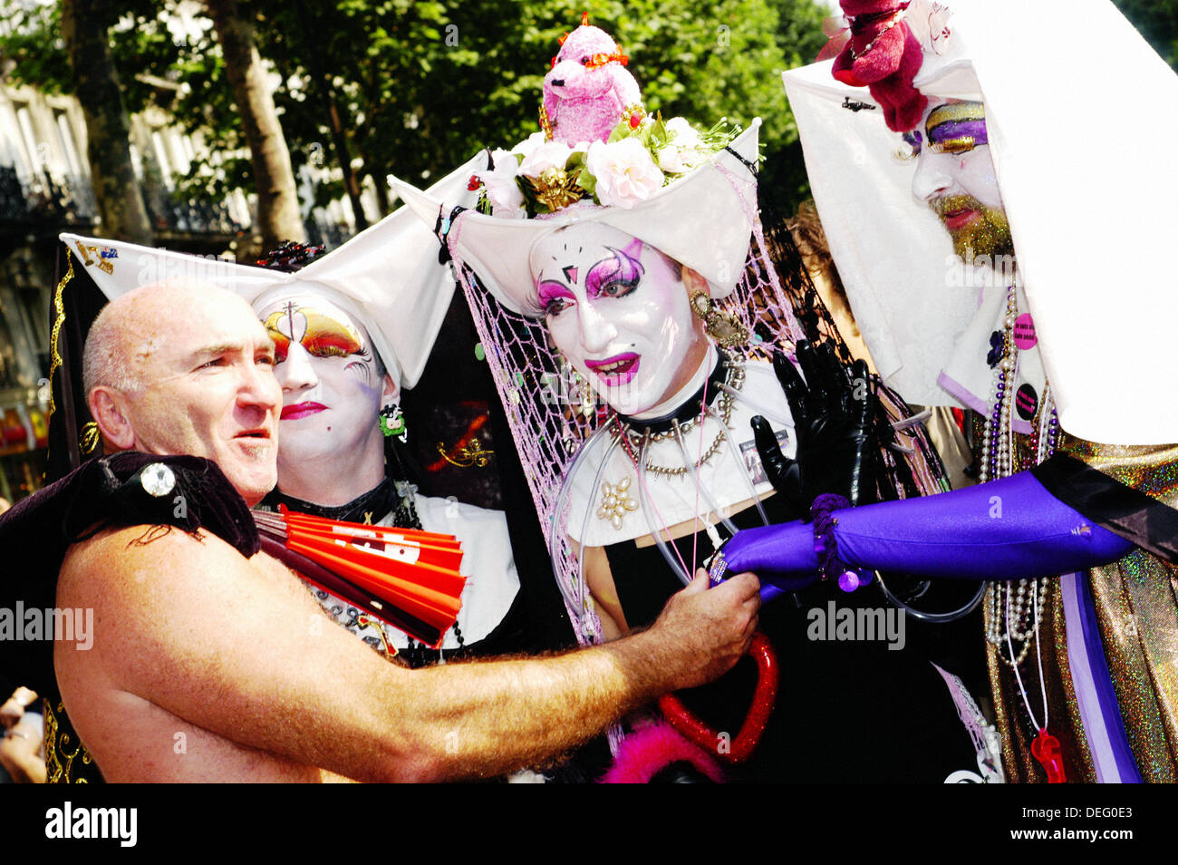 Paris Pride Parade Stock Photos & Paris Pride Parade Stock ...