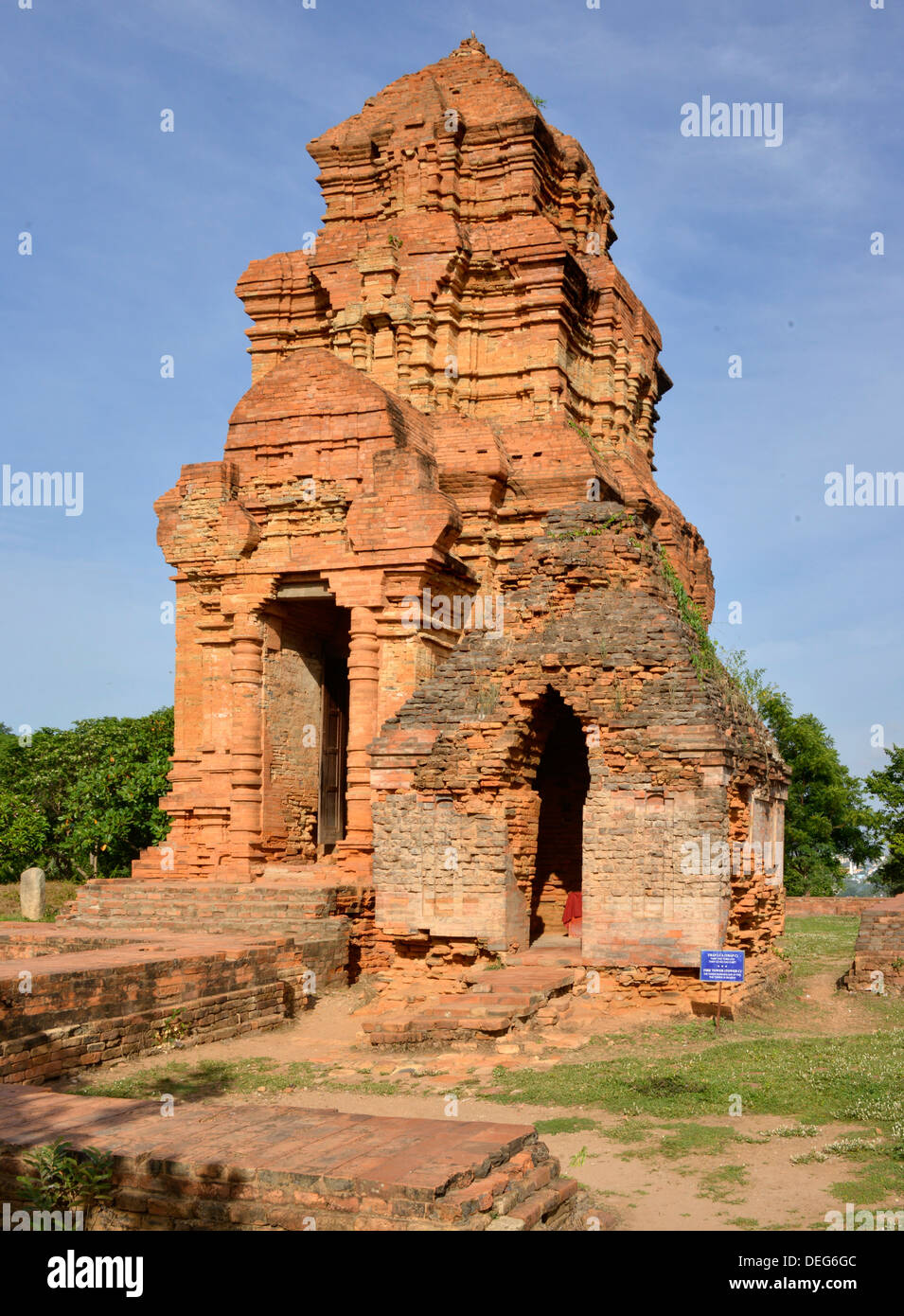Po Shanu Cham temple, Phan Thiet, Vietnam, Indochina, Southeast Asia, Asia - Stock Image