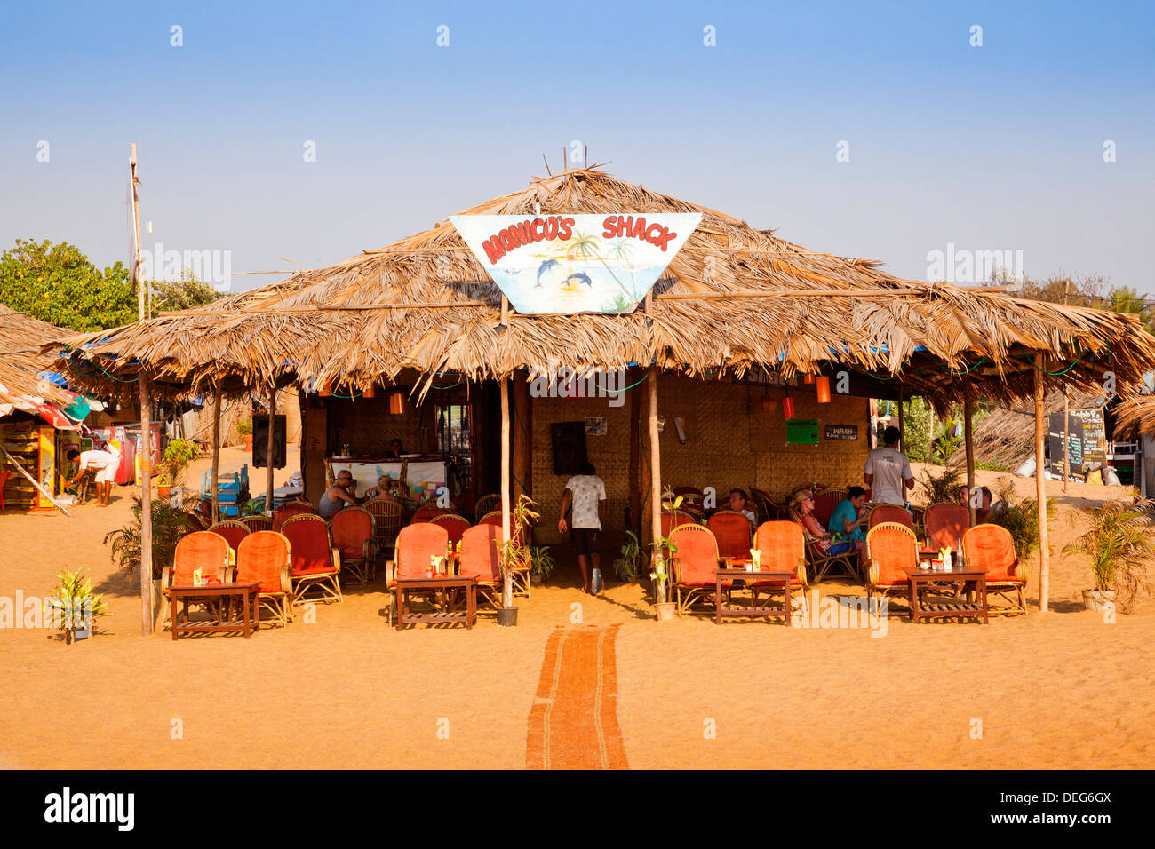 Beach Shack Goa High Resolution Stock Photography And Images Alamy