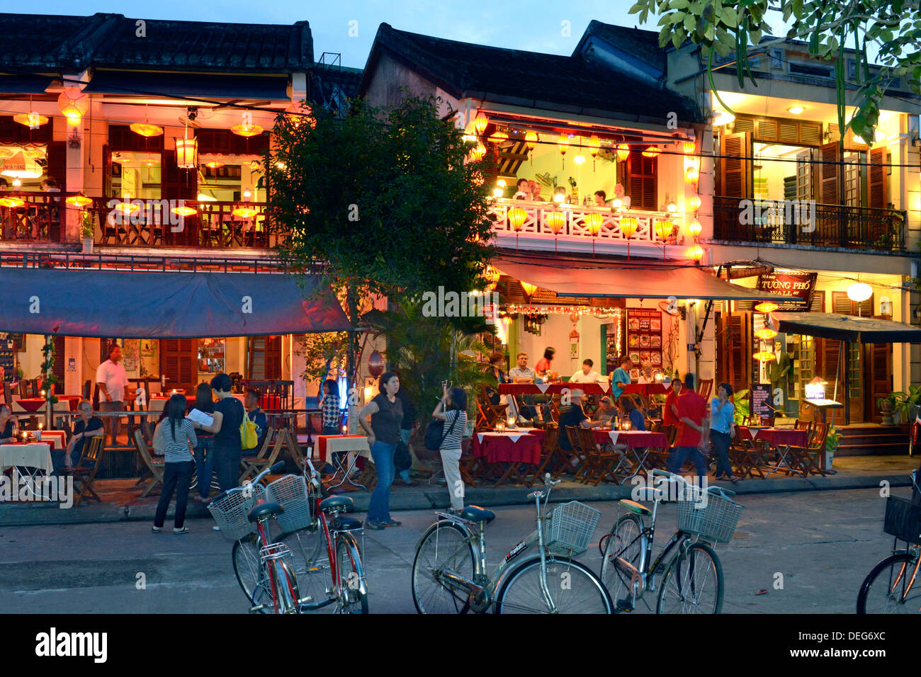 Hoi An, UNESCO World Heritage Site, Vietnam, Indochina, Southeast Asia, Asia - Stock Image