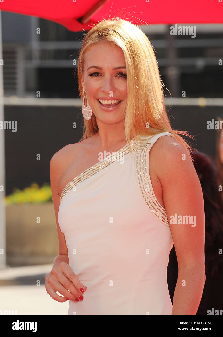 CAT DEELEY English TV personality  in September 2013. Photo Jeffrey Mayer - Stock Image