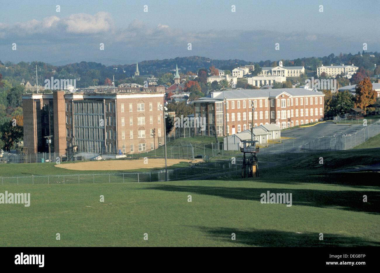 Parison facility. Staunton, Virginia. USA. - Stock Image