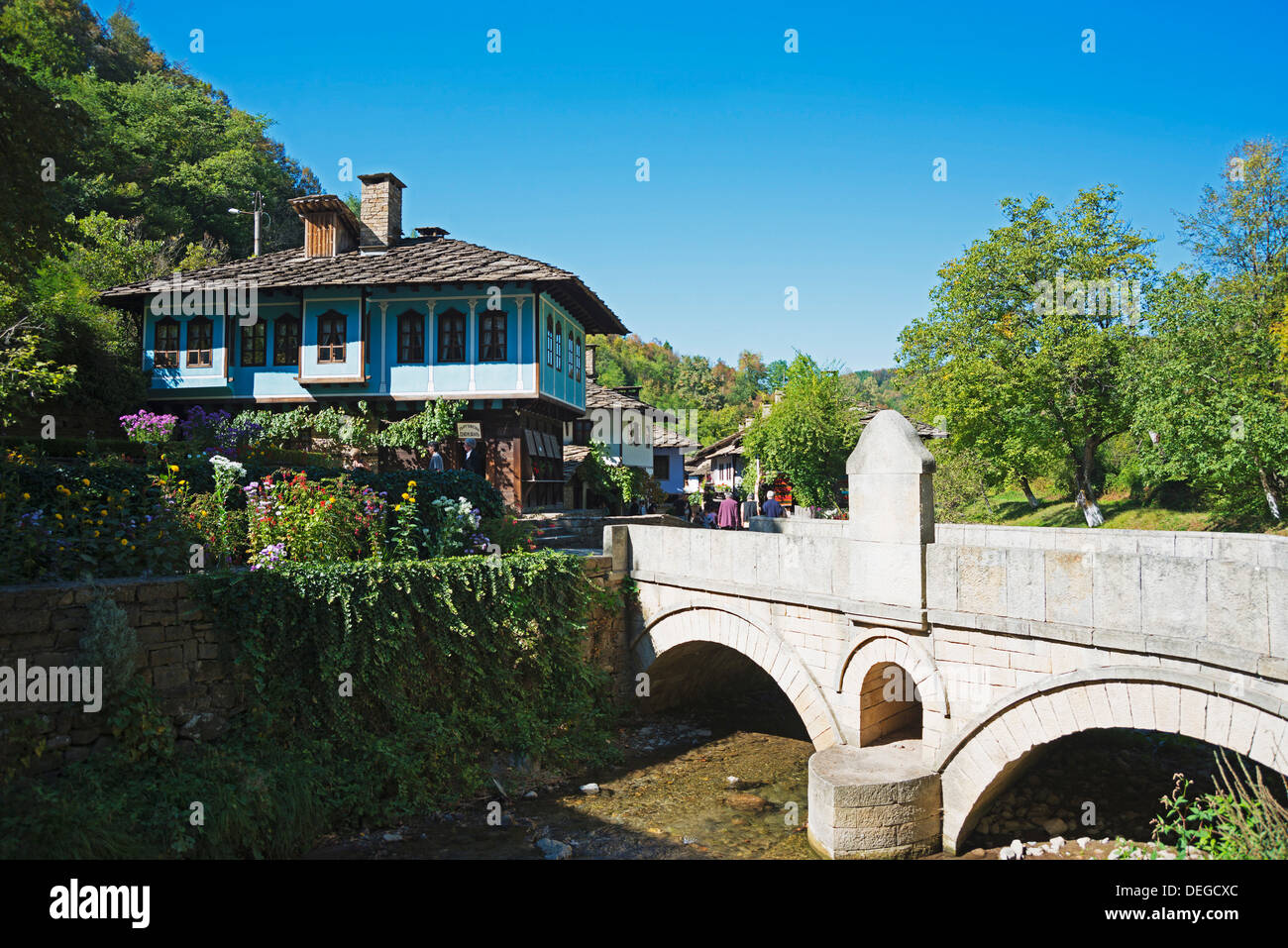 Etar Ethnographic Village Museum, Bulgaria, Europe - Stock Image
