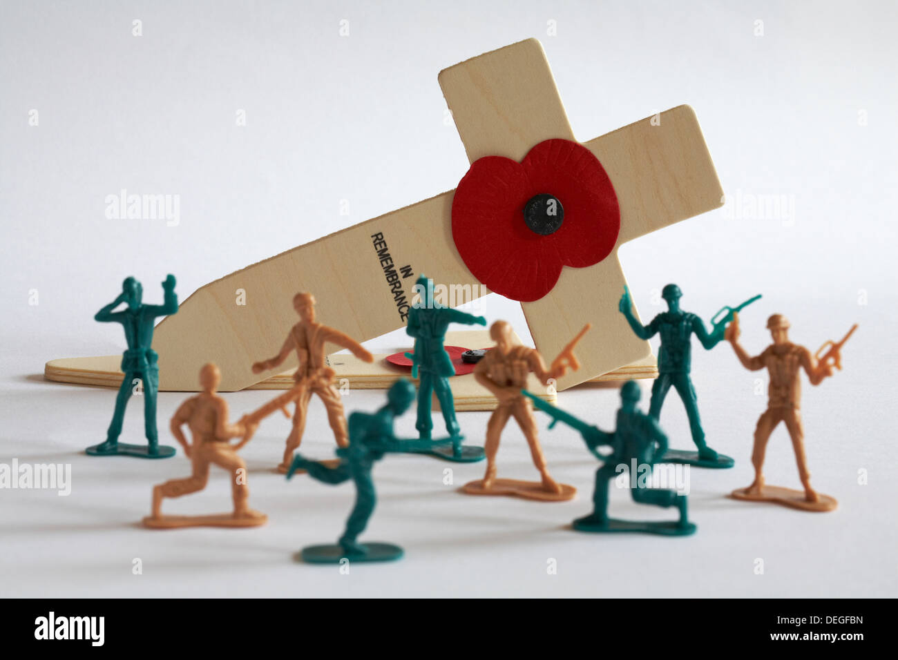 Toy Soldiers Battle Stock Photos & Toy Soldiers Battle Stock Images
