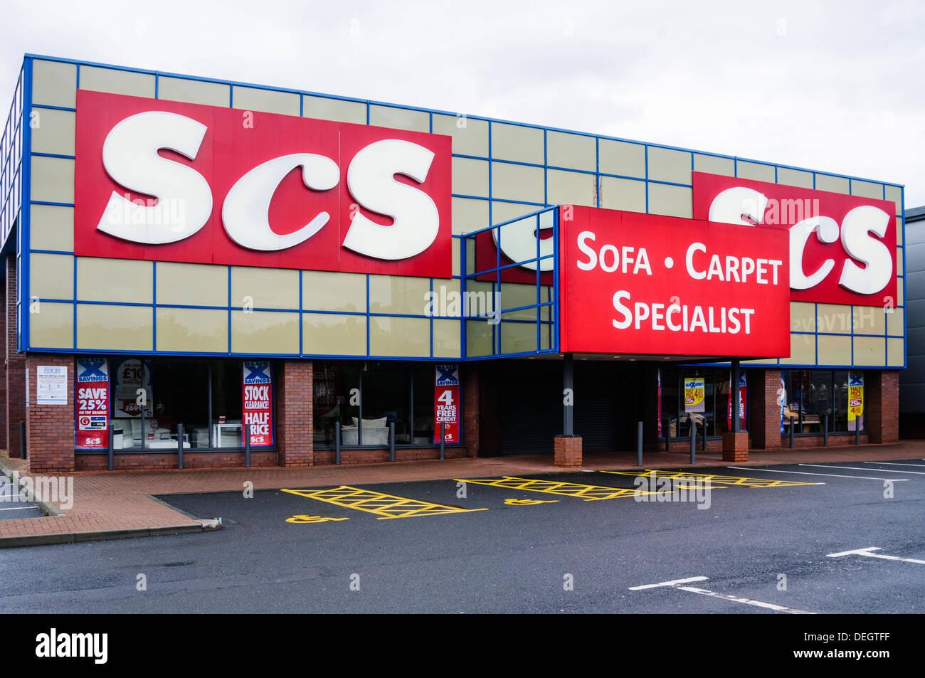 SCS furniture store Stock Photo