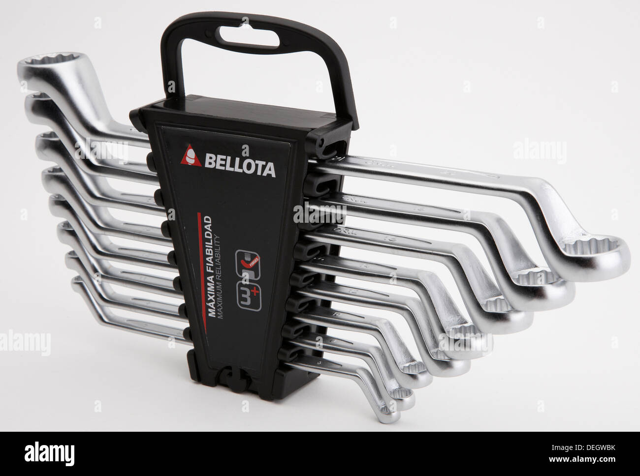 Set of ring spanners - Stock Image