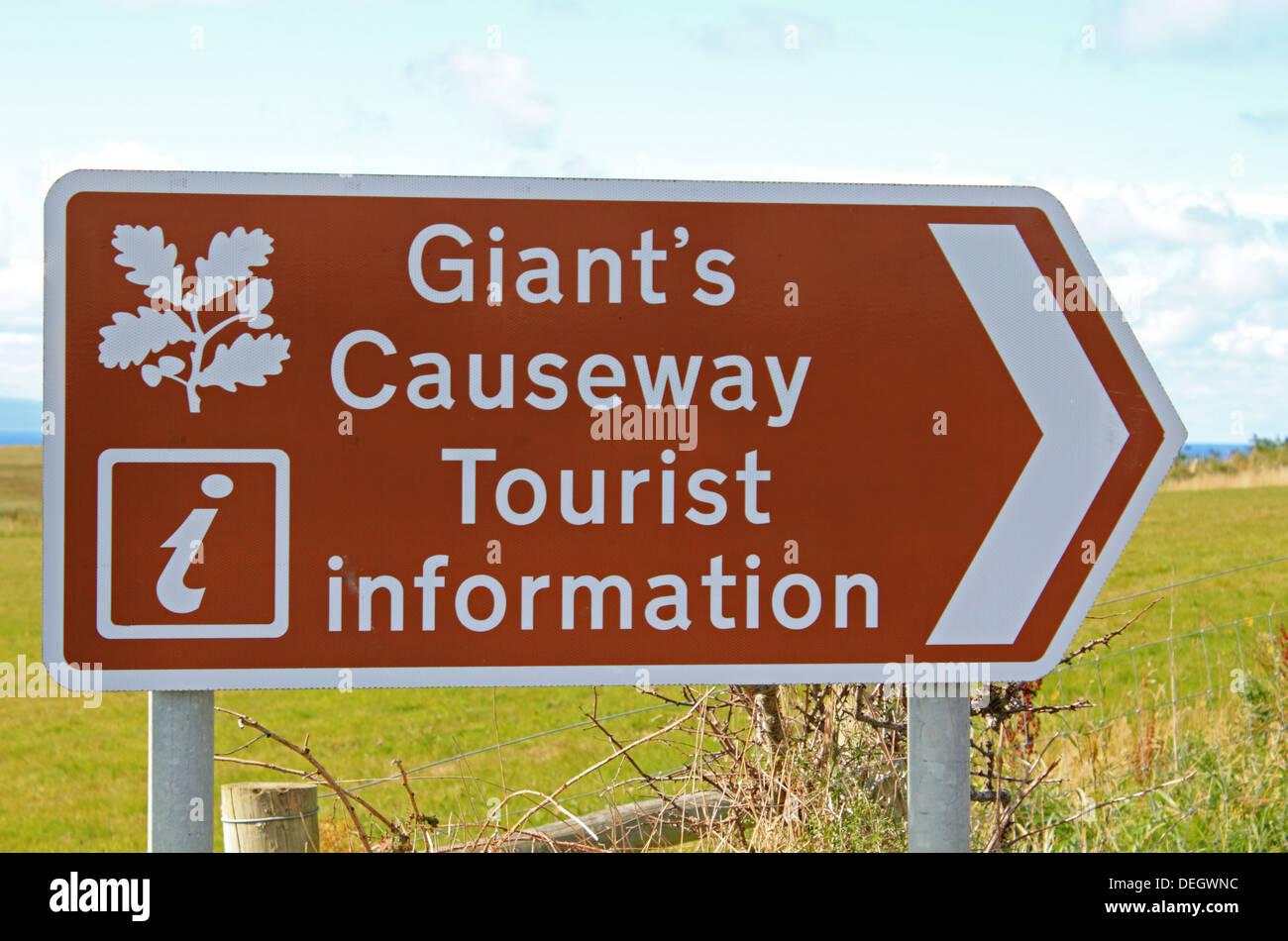 Giant's Causeway near Bushmills, Antrim, Northern Ireland, UK. - Stock Image