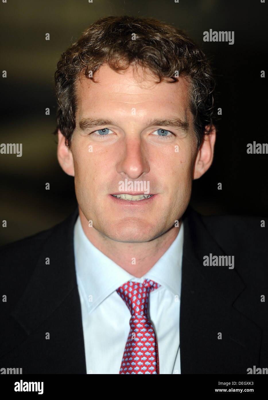 TV presenter Dan Snow - Stock Image