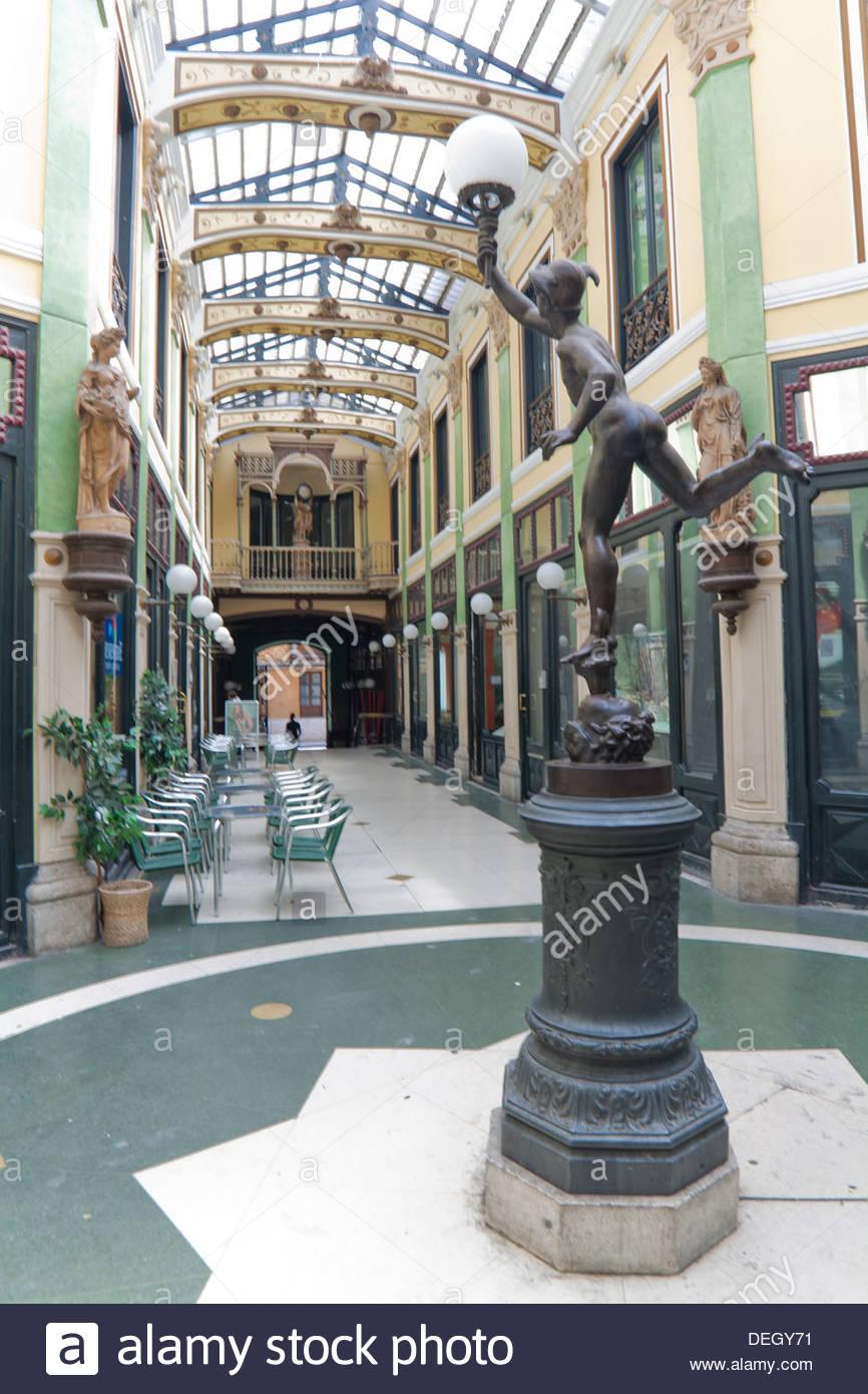 Pasaje Gutiérrez, in Valladolid, Castilla y León , Spain - Stock Image
