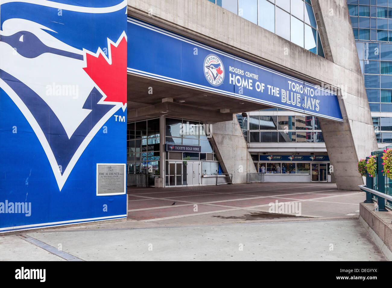 Rogers Centre, stadium of the Blue Jays baseball team, Toronto - Stock Image