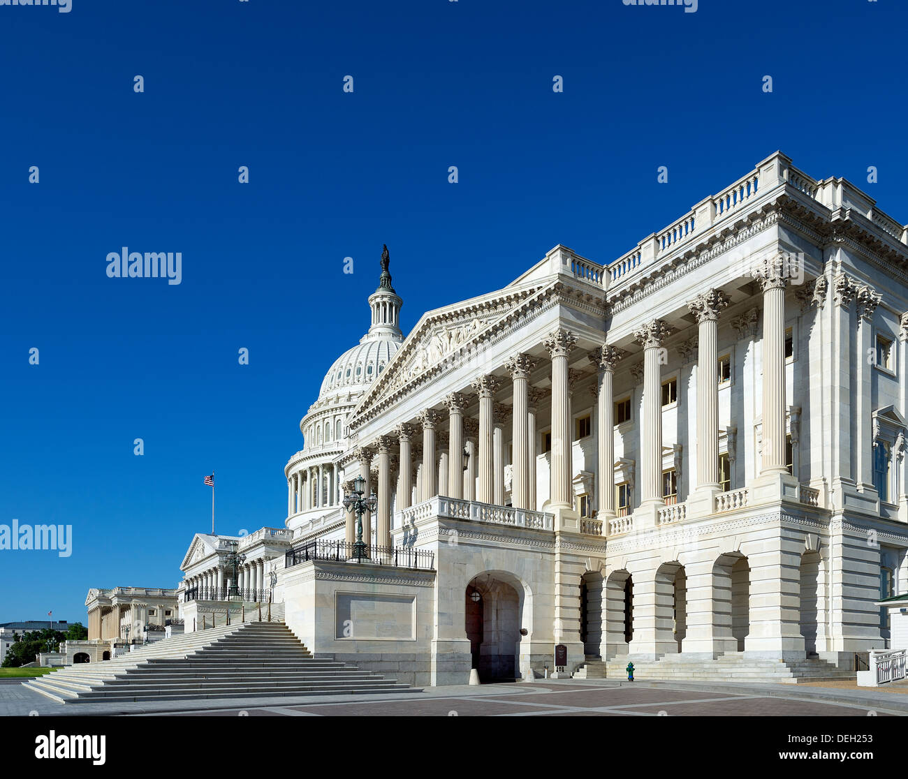 The United States Capitol Building, Washington D.C., USA - Stock Image