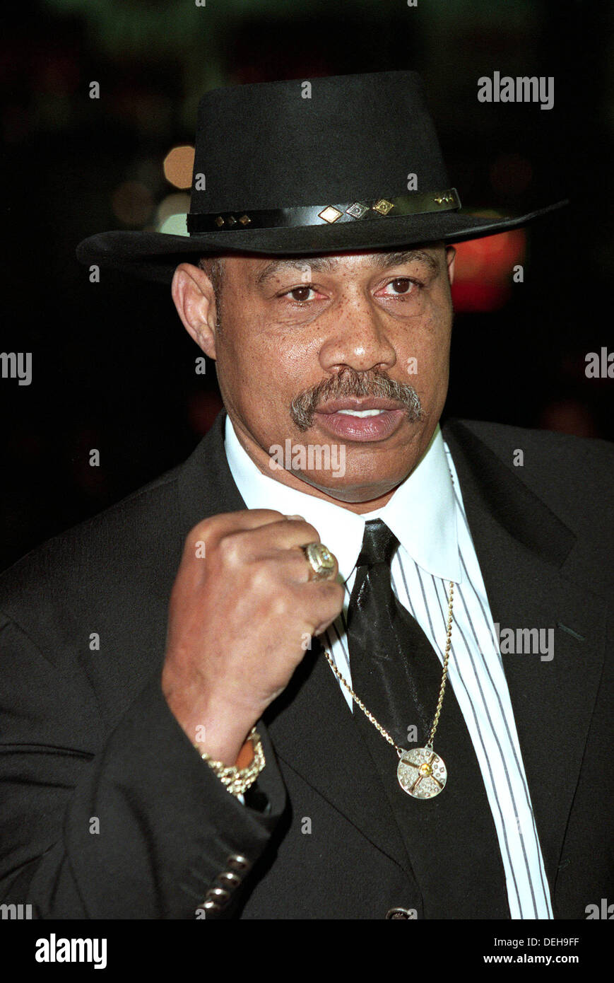 FILE PICTURES:  Kenneth Howard Norton Sr. (August 9, 1943 - September 18, 2013) was an American former heavyweight Stock Photo