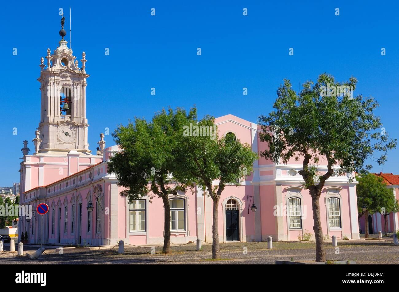 Queluz, Pousada Dona maria, Dona Maria state-run hotel, Lisbon Portugal, Europe. Stock Photo
