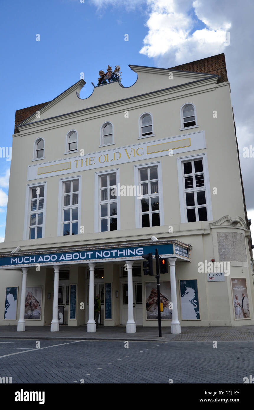 The Old Vic Theatre in Waterloo, London - Stock Image