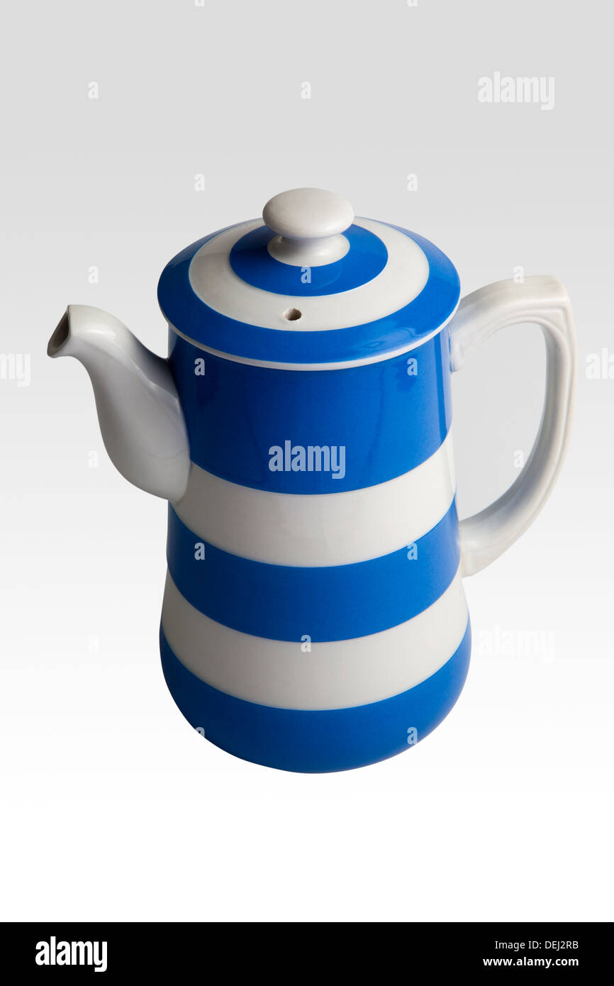 Vintage T. G. Green & Co Ltd vintage 1960s coffee pot (Cornish Kitchenware) - Stock Image