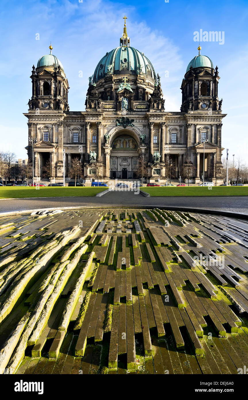 dome (Dom) in berlin, germany, on a sunny day - Stock Image