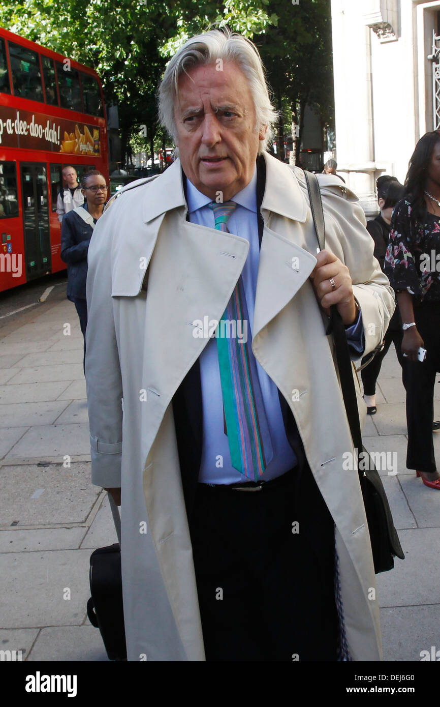 Michael Mansfield QC arrives at The Royal Courts of Justice in London Britain 16 September 2013 - Stock Image