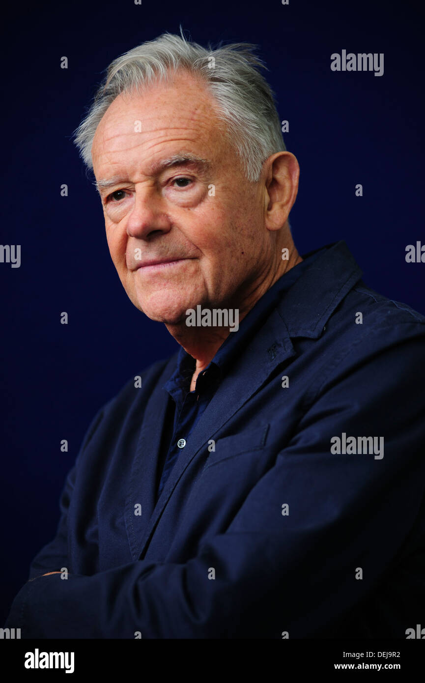 Maurice Leitch, Award-winning Novelist, attending at the Edinburgh International Book Festival, Thursday 22nd August 2013. - Stock Image