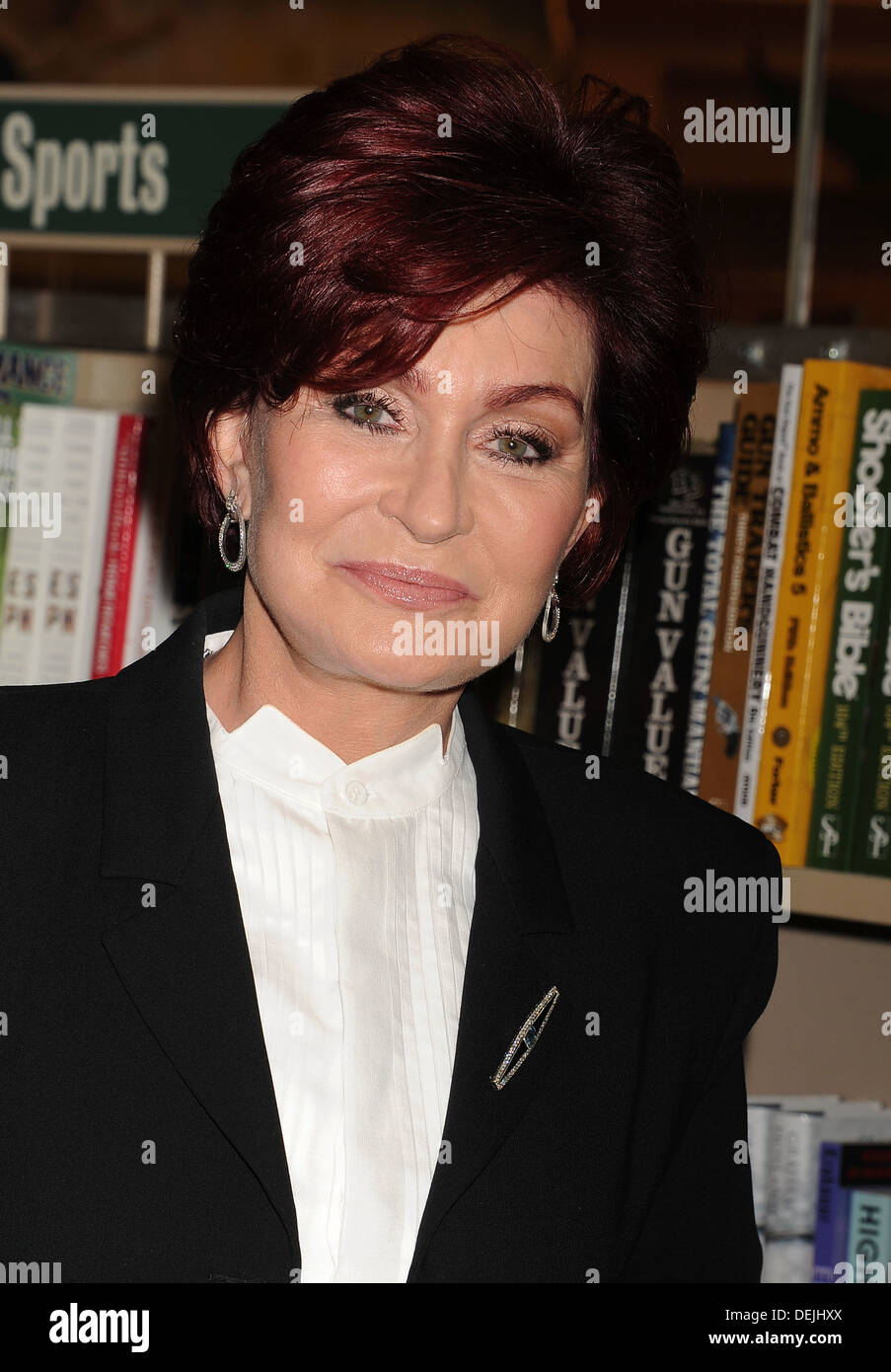SHARON OSBOURNE  English media personality lat the launch of  her book in September 2013. Photo Jeffrey Mayer - Stock Image