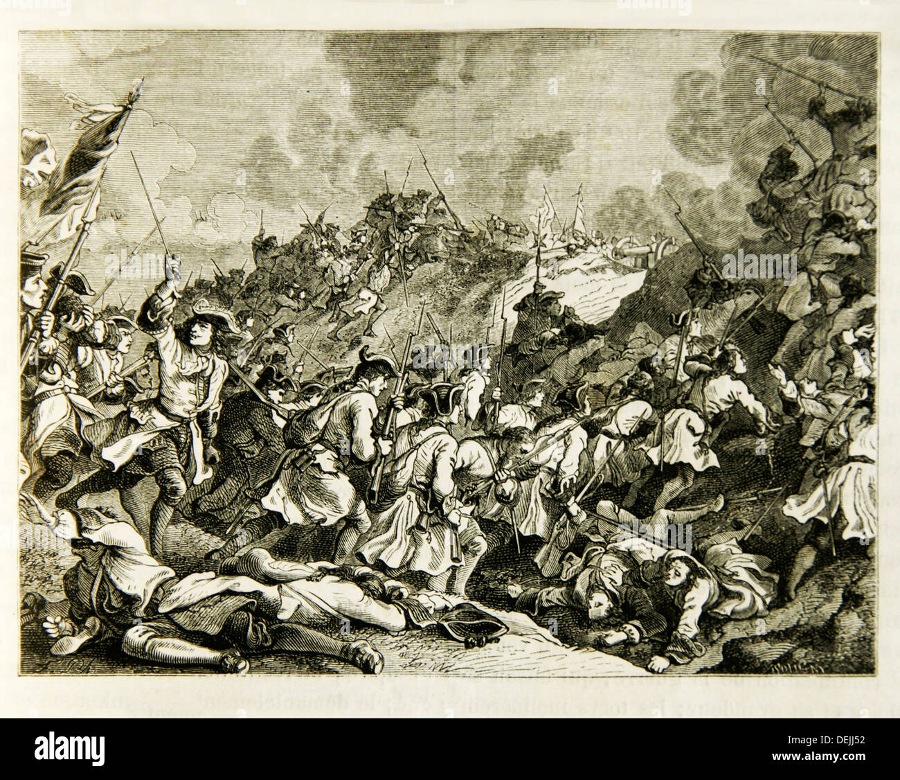 Battle of Denain on 24 July 1712, part of the War of the Spanish Succession