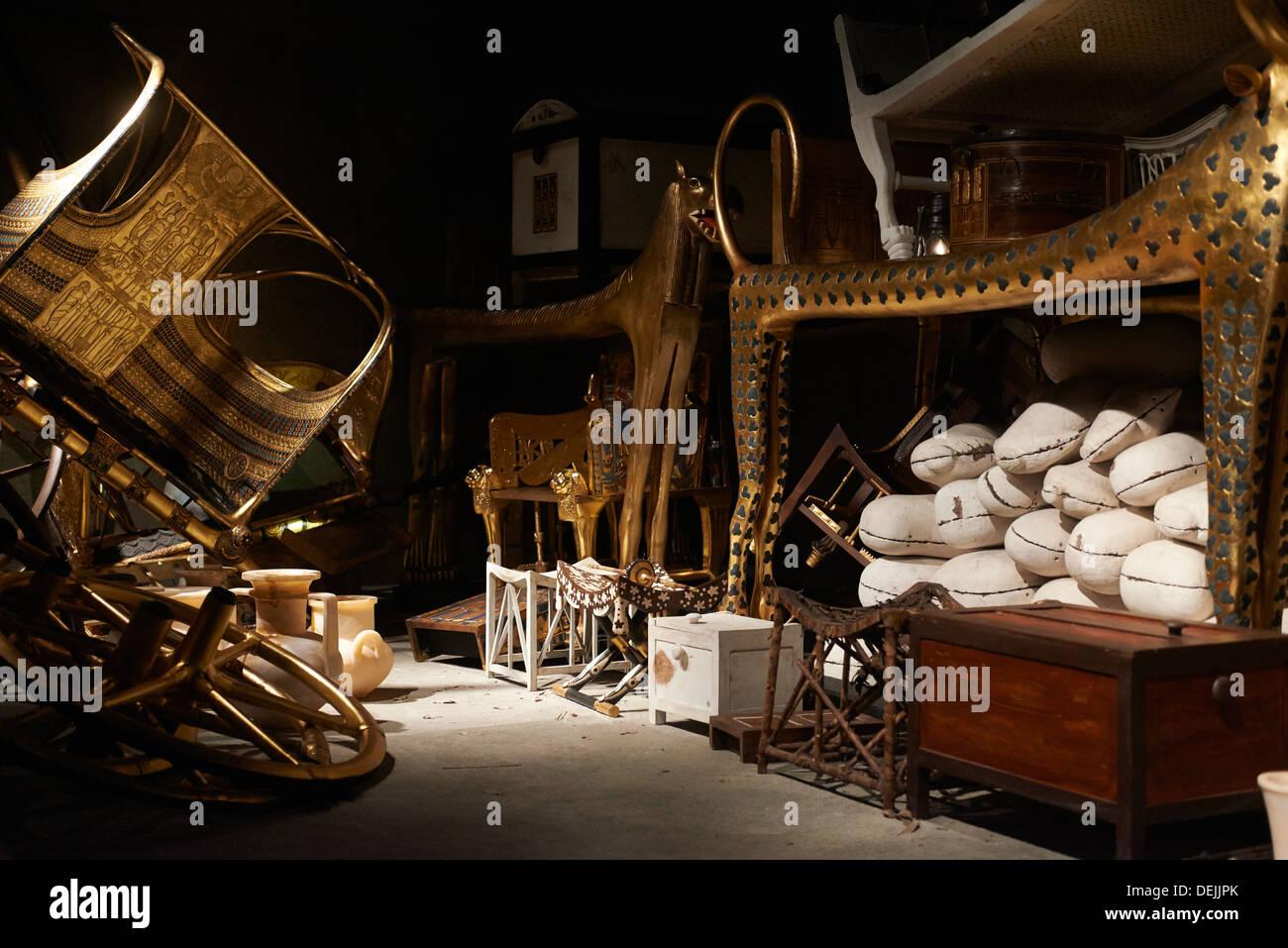 Tutankhamun-His-Tomb-And-His-Treasures - History Arch |King Tut And His Treasures