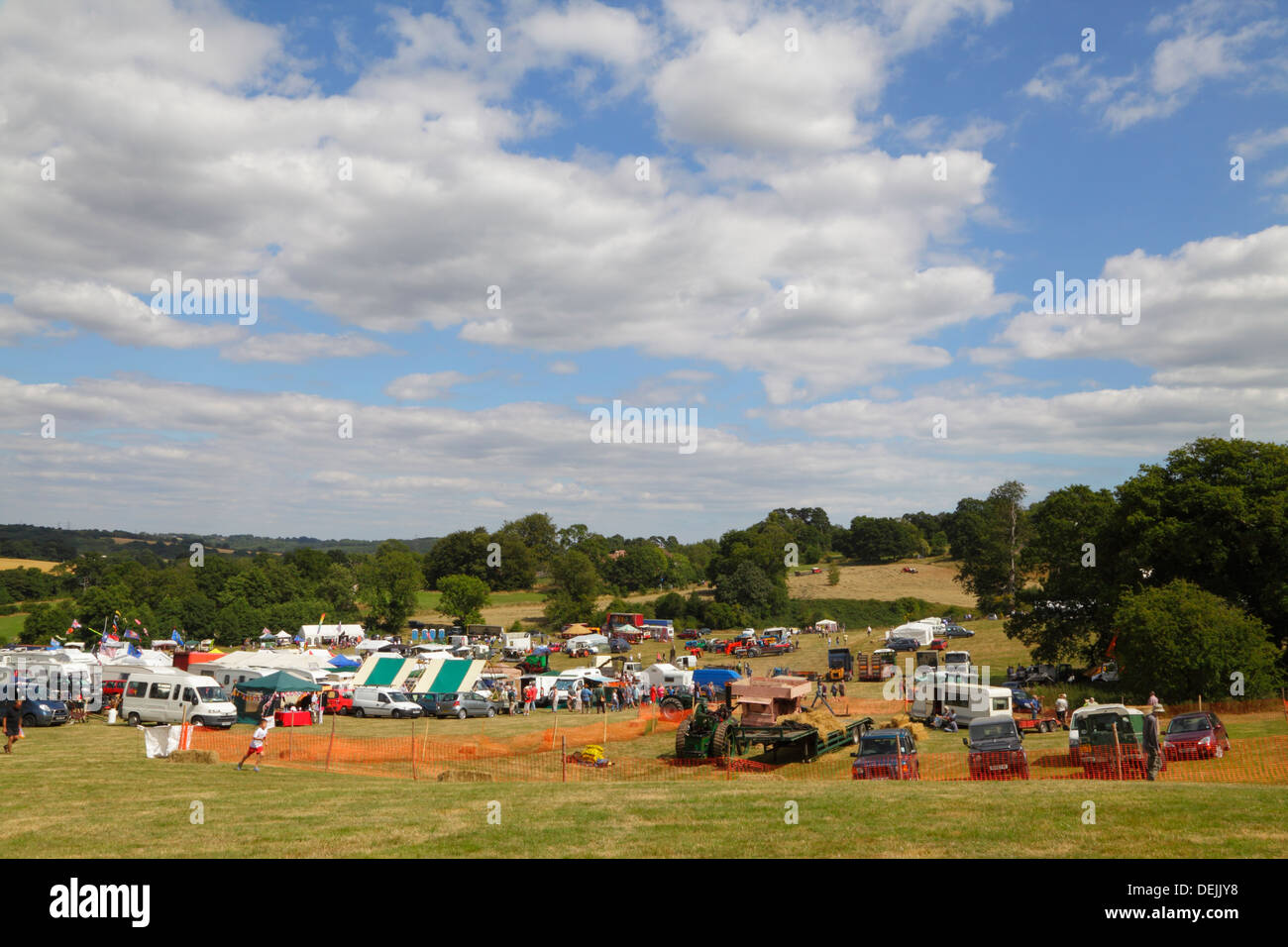 'Past Times' Country Fair at Pestalozzi Sedlescome East Sussex UK - Stock Image