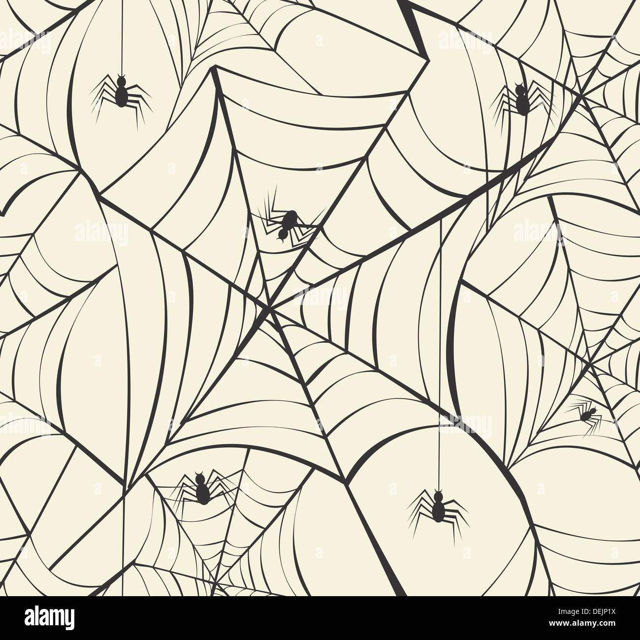 happy halloween spider webs seamless pattern background eps10 vector file organized in layers for easy editing