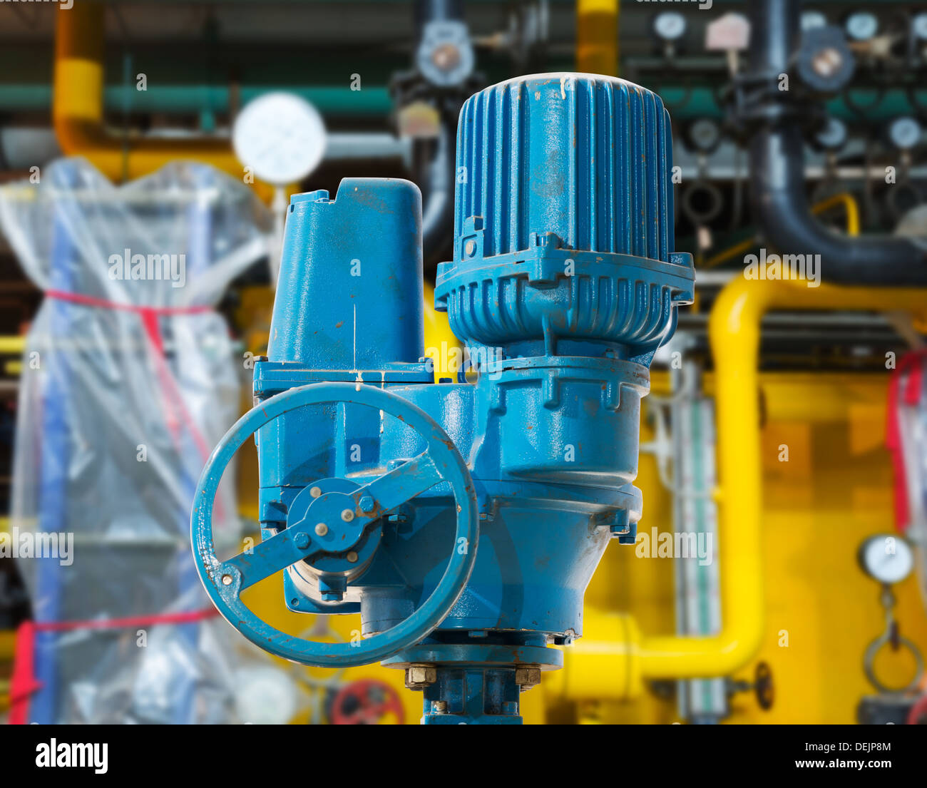 Large industrial boiler room Stock Photo: 60648916 - Alamy