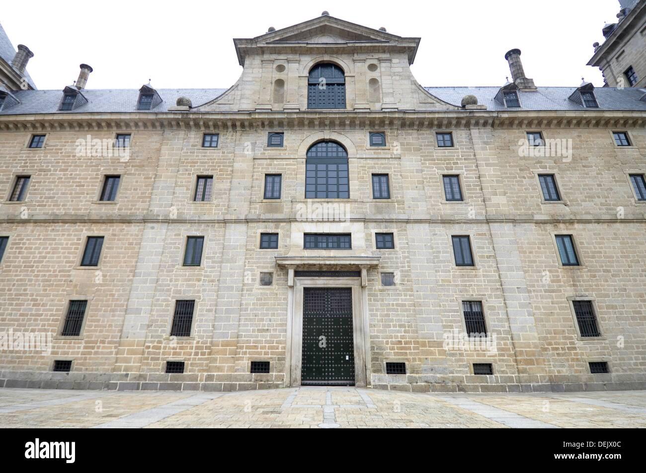 Royal Monastery of El Escorial, San Lorenzo de El Escorial, Madrid, Spain Stock Photo