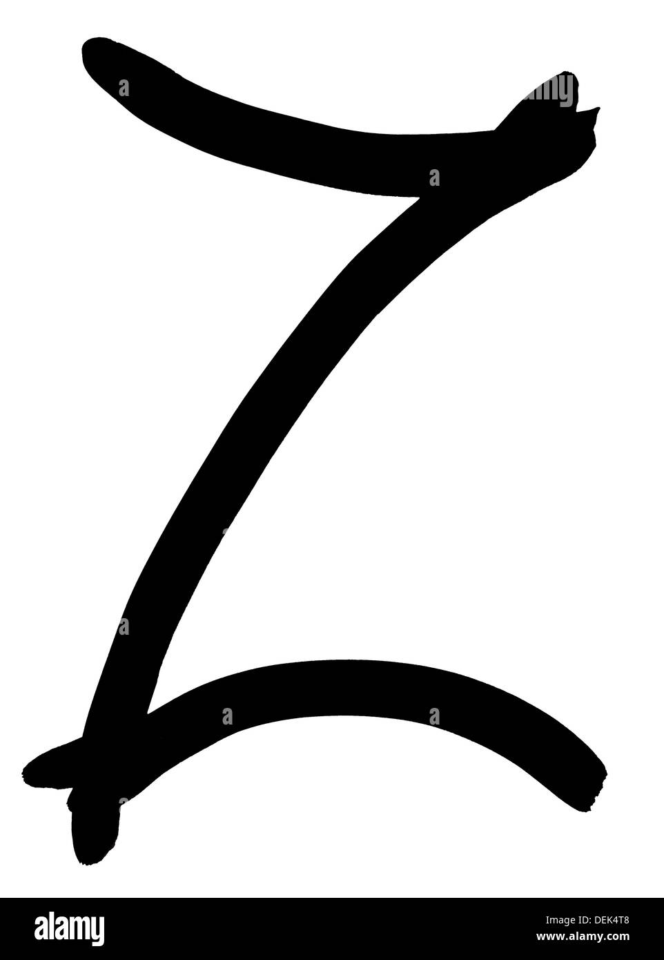 Capital Letter Z Black And White Stock Photos Images Alamy