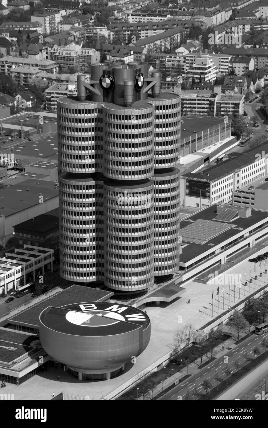 BMW plant in Munich - Stock Image