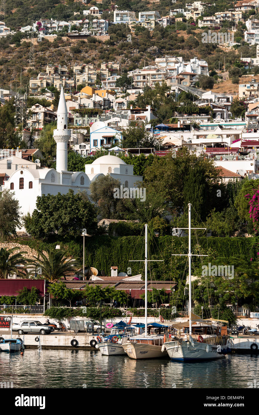 Harbour Kas Antalya Province of Turkey - Stock Image