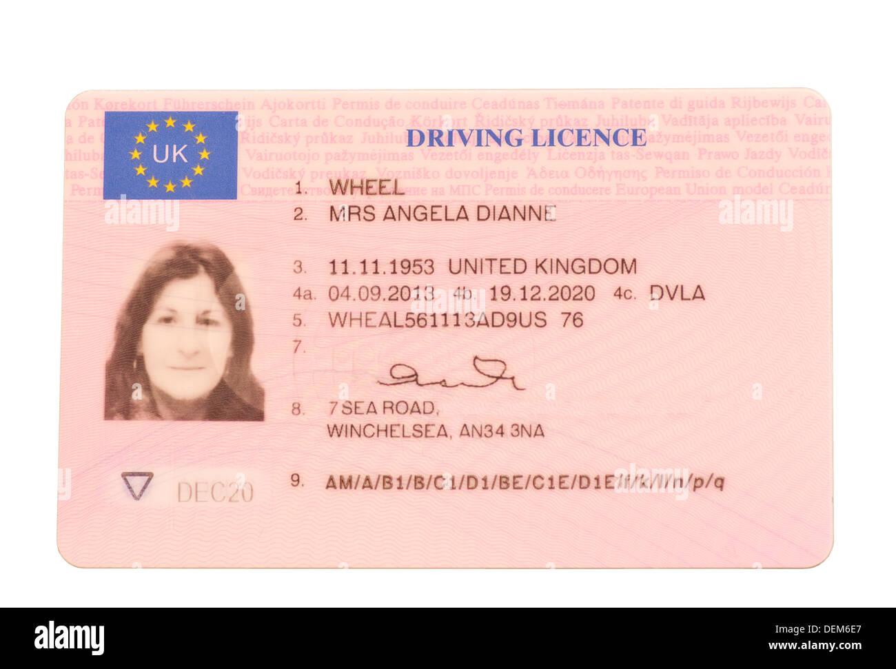 irish drivers license in uk