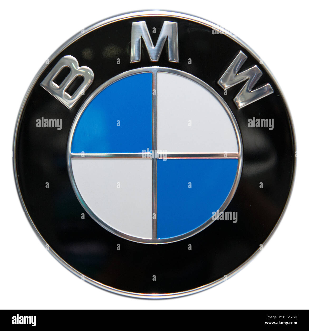Bmw Logo Cut Out Stock Images Pictures Alamy