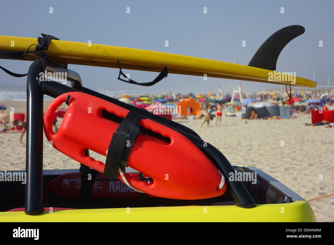 Lifeguard buoy - Stock Image
