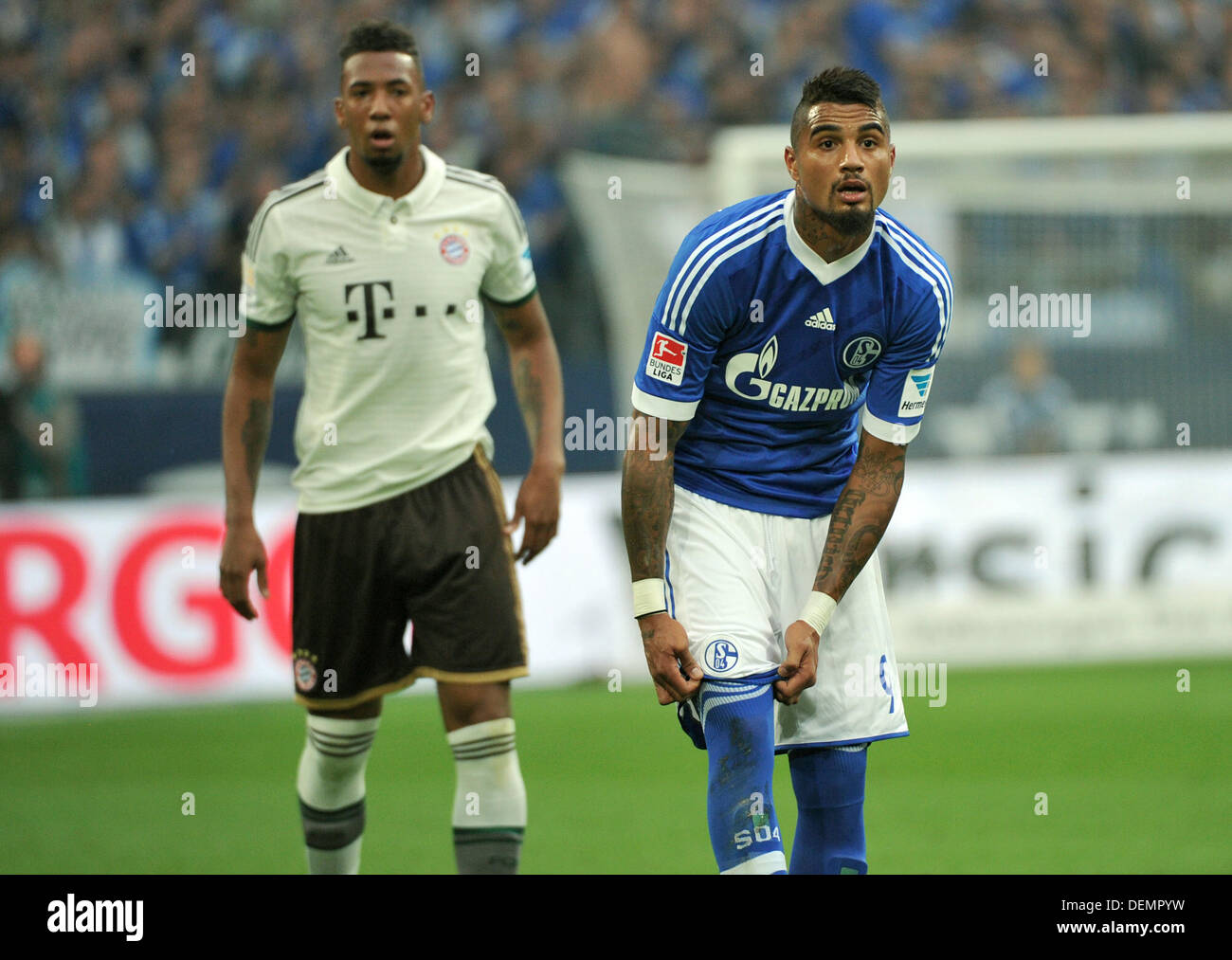 Kevin Prince And Jerome Boateng Stock Photos Kevin Prince And