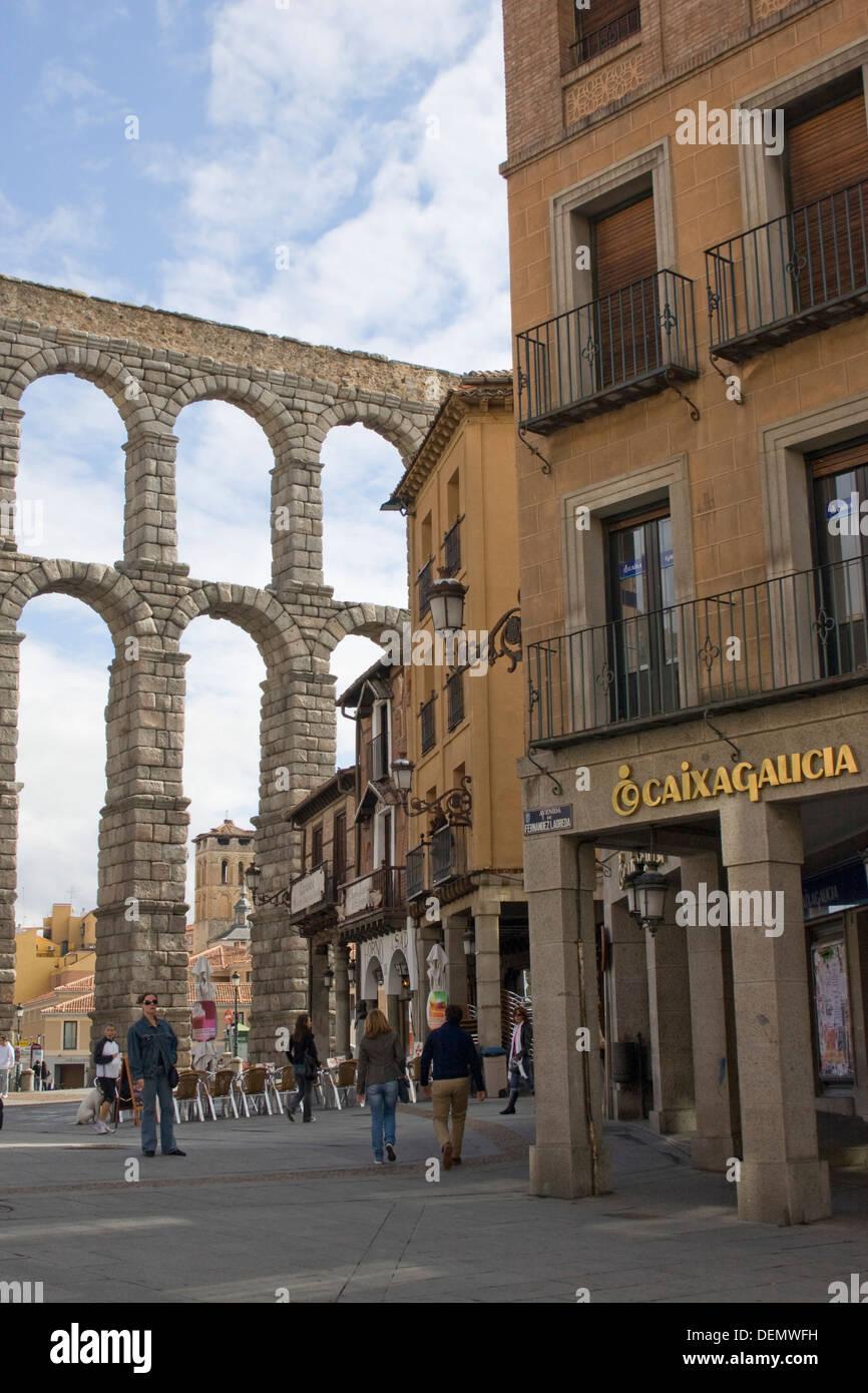 Acueducto de Segovia - Stock Image