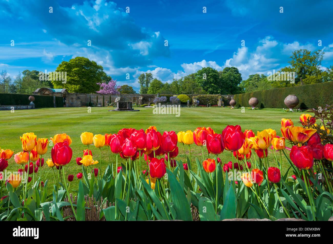 Hever Castle, Hever, Edenbridge, Kent, England, UK, Europe - Stock Image