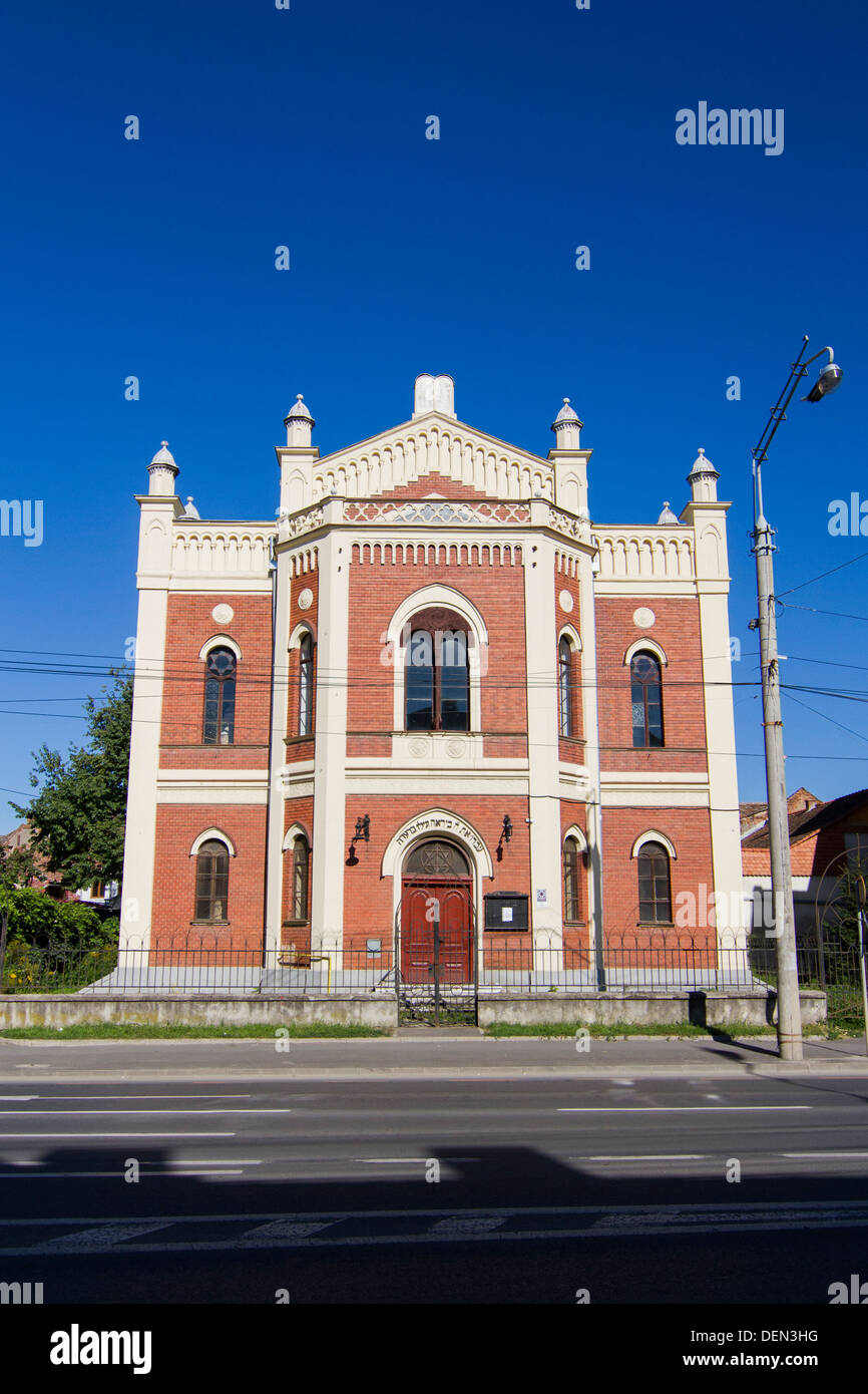 Synagogue in Hermannstadt (Sibiu) the European Capital of Culture in 2007 Stock Photo