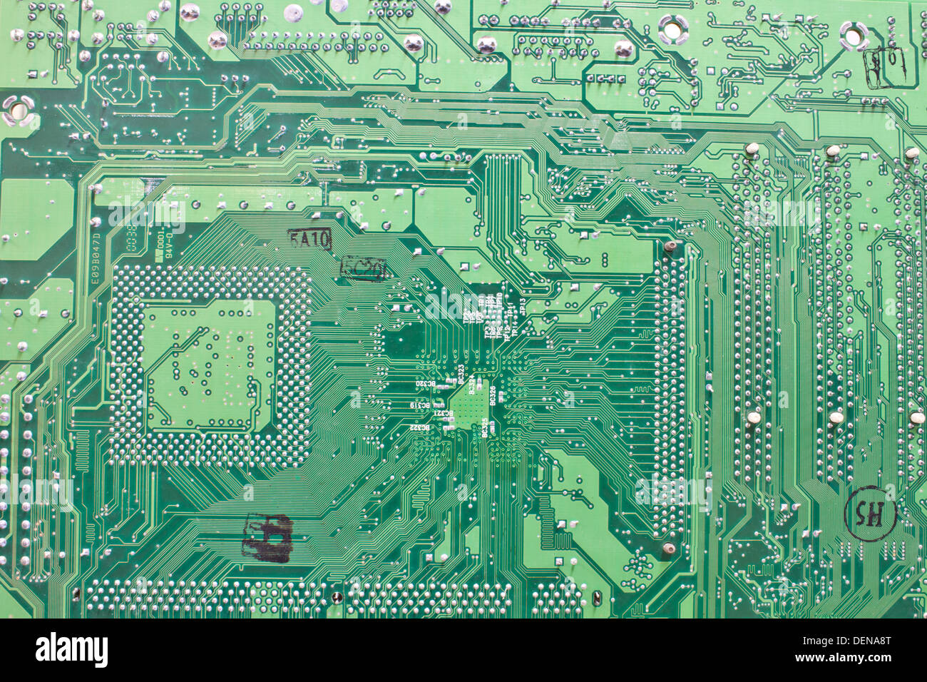 Circuit Board Stock Photos Images Alamy Old Electronic Royalty Free Image Abstract Background With Computer