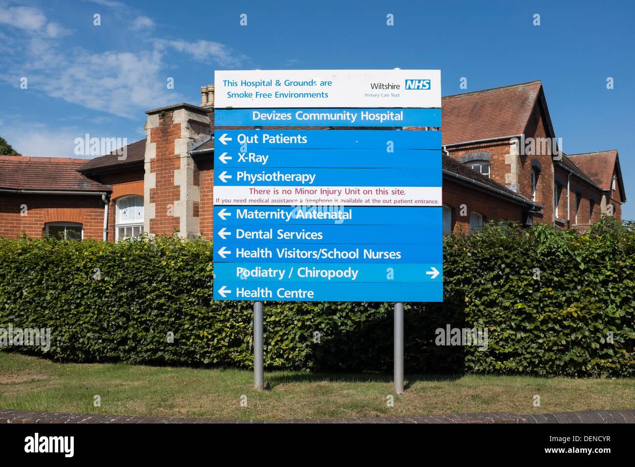 Devizes Community Hospital - Stock Image