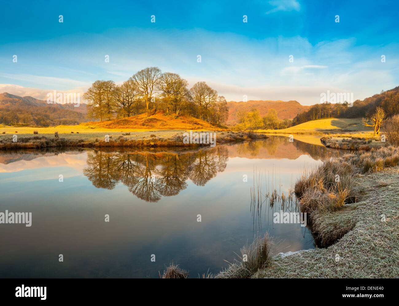 elter water,lake district, cumbria, england, uk, europe Stock Photo