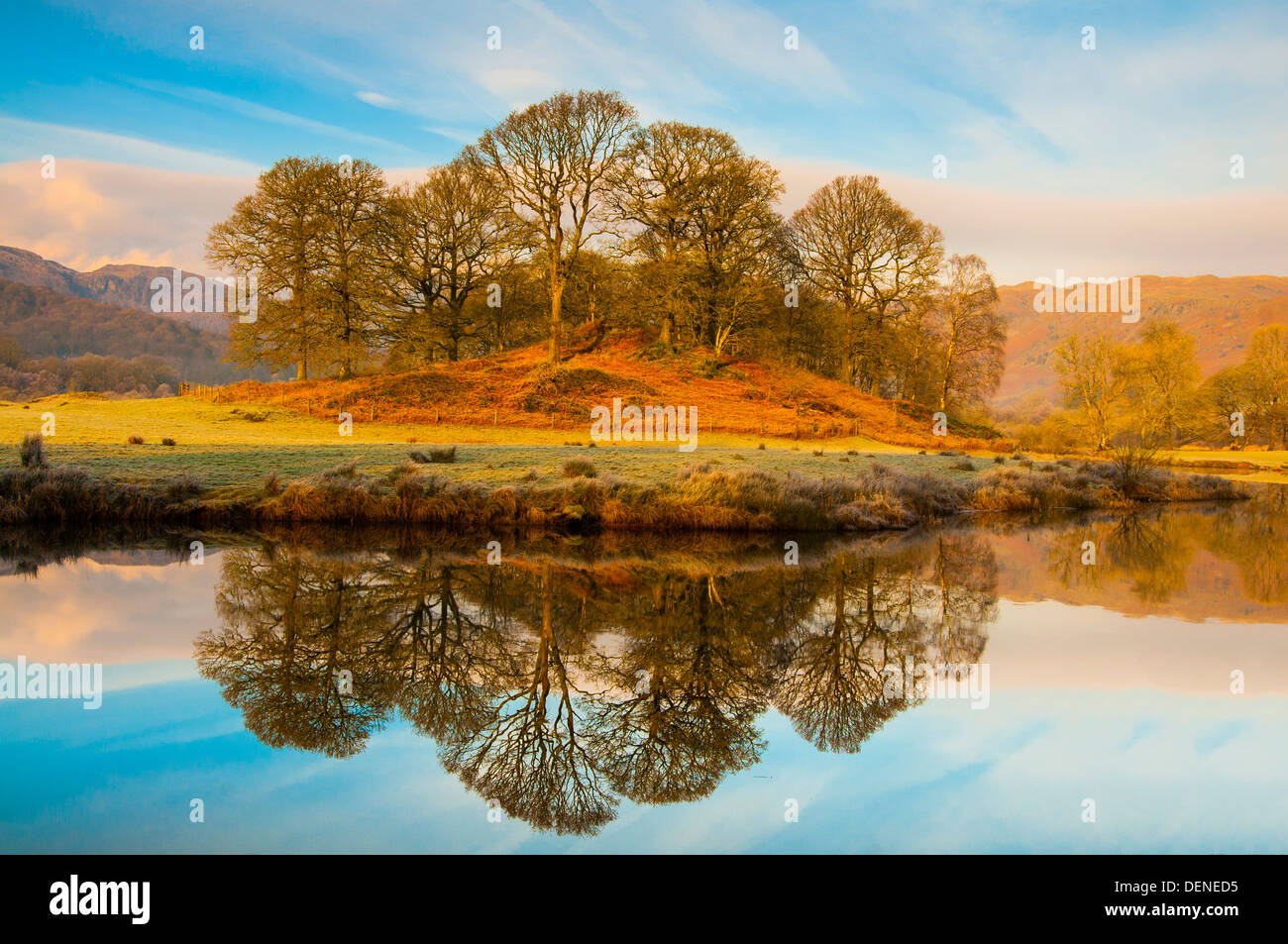 elter water,lake district, cumbria, england, uk, europe Stock Photo