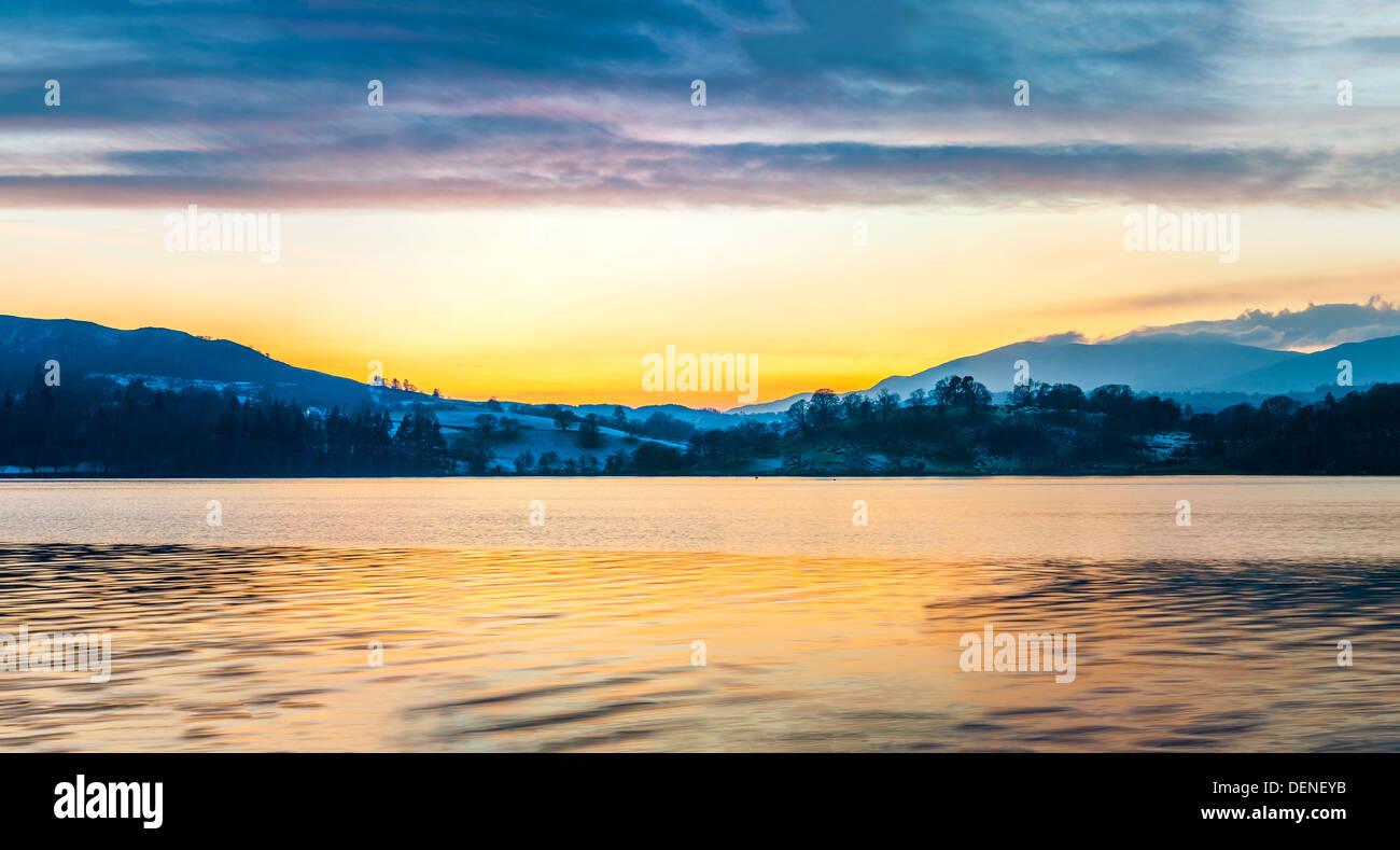 windermere,lake district,cumbria,england,uk,europe - Stock Image