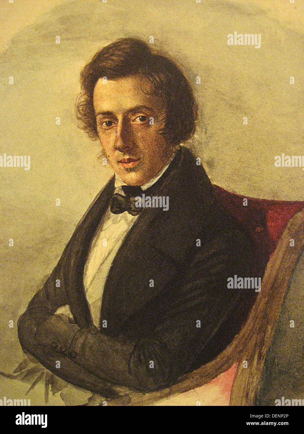 Frederic Chopin, Polish composer Frederic Chopin - Stock Image