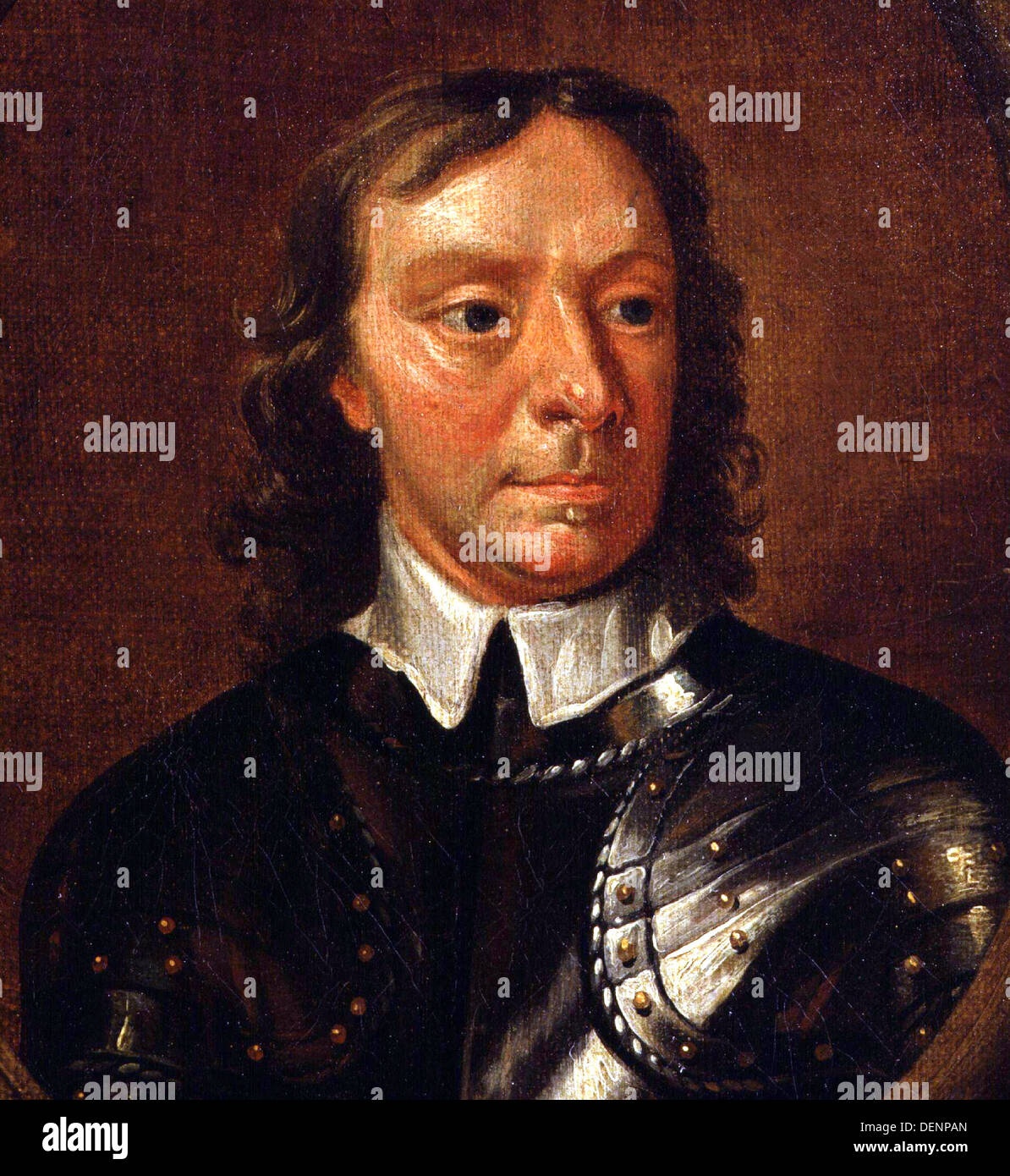 Oliver Cromwell Stock Photo