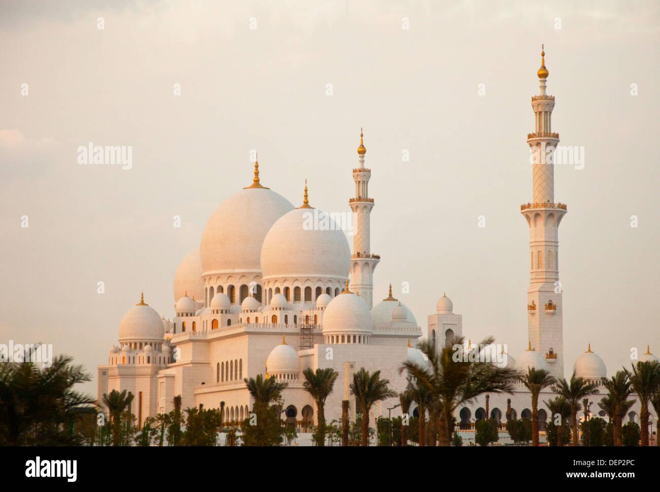Emirate of Abu Dhabi. EAU. Persian Gulf. Arabia. - Stock Image
